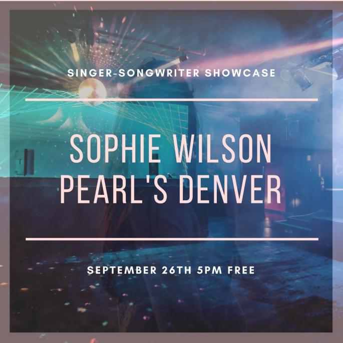 SOPHIE WILSONPEARL'S DENVER
